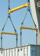 Cranes with Special Riggings & Spreader Bars